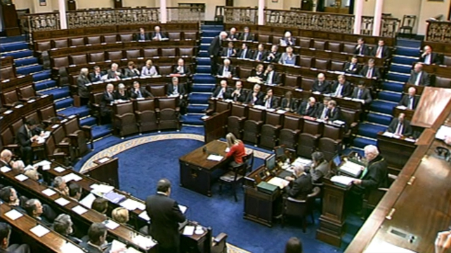 Dáil - Angry exchanges over by-election issues