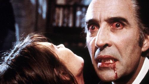 Lee as Count Dracula