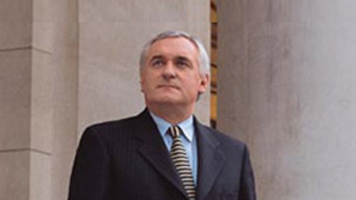 Bertie Ahern - Would like to run for President