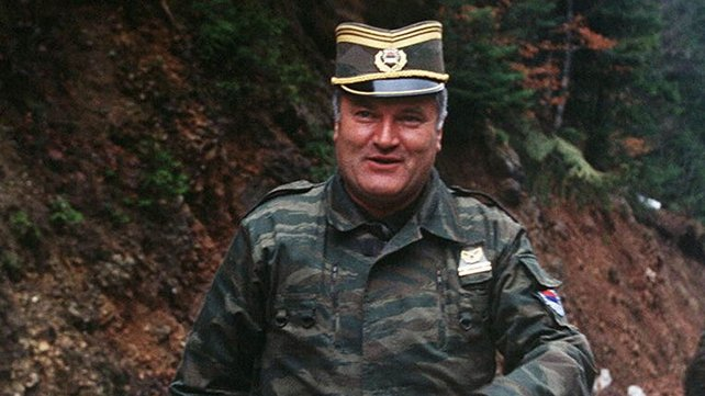 Ratko Mladic - Indicted for  - war crimes