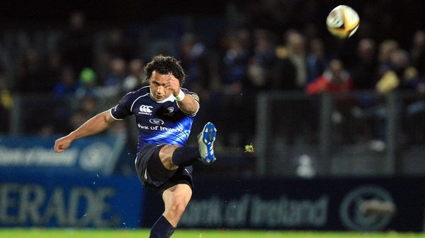 Isa Nacewa helped Leinster to a narrow success
