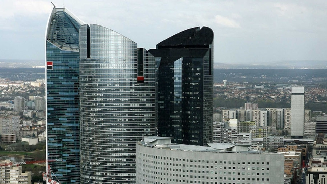 SocGen today reported a 13.3% drop in first-quarter net income to €315m