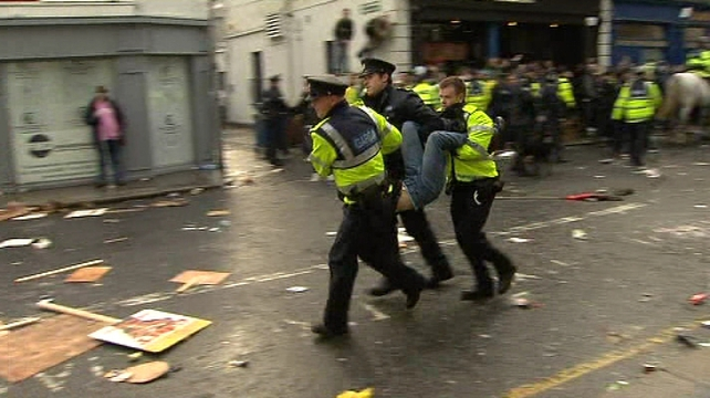 Dublin - Student leaders condemn clashes