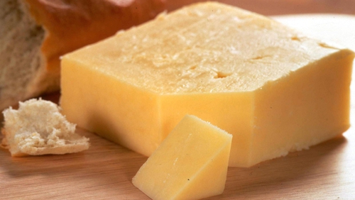 Cheddar cheese accounts for more than half the cheese sold in the Irish market