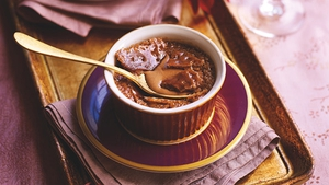 Rachel Allen's Chocolate Crèmes Brûlées.