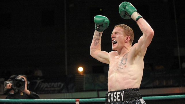 Big Bang Willie Casey will fight in Dublin on 3 November