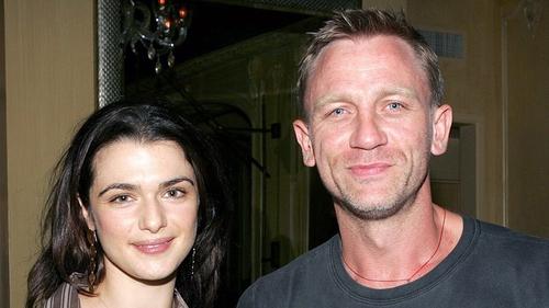 Daniel Craig with his wife Rachel Weisz