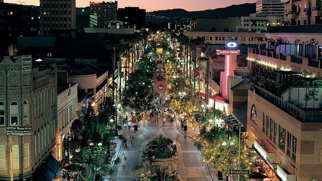 A trip to Santa Monica?