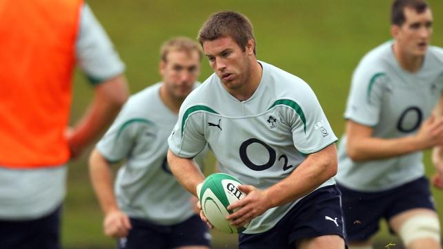 Sean O'Brien will start at openside flanker for Ireland against Samoa