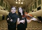 Principal Conductor, Alan Buribayev & Deirdre Reddy, violin