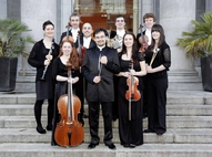 2010 Mentor Scheme participants with RTE NSO Principal Conductor Alan Buribayev