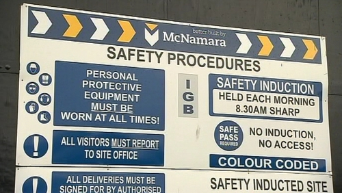 McNamara Construction - receiver appointed