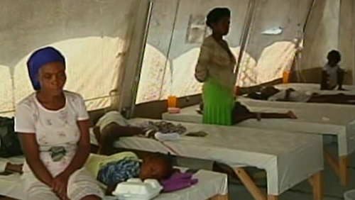 Haiti - Over 800 already killed by cholera epidemic