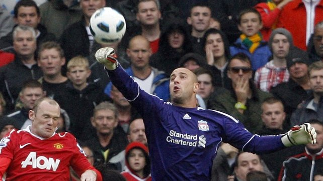 Pepe Reina expects to be back for the weekend's Merseyside derby