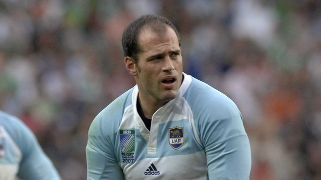 Felipe Contepomi was once more the Pumas' hero as he kicked a conversion and five penalties against Italy