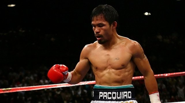 Manny Pacquiao will be back in the ring in April