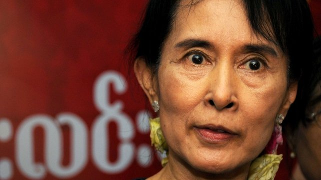 Ms Suu Kyi has met President Higgins and will attend a concert in her honour