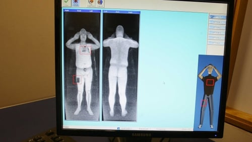 Full-body scan - Will become routine as hundreds of the machines are installed at US airports