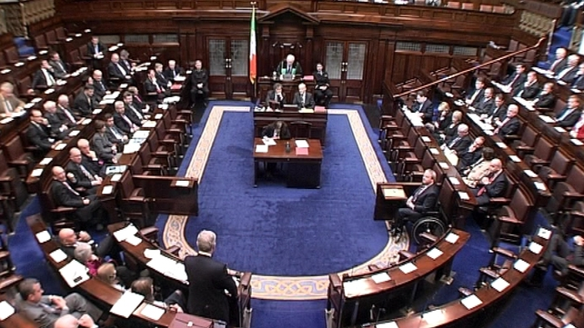 Dáil - Discussed four-year plan this morning