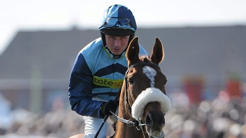 Paul Moloney (pictured) partnered Quentin Collonges to victory in the feature at Doncaster