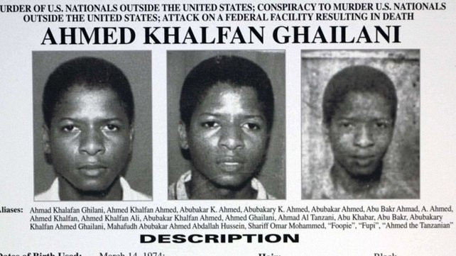 FBI Most Wanted - Ghailani was sought over US embassy bombings in Africa