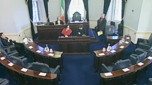 Seanad - Elections next month