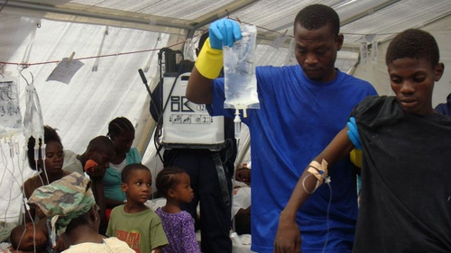 Haiti - Over 1,000 people have died in epidemic (Photo: Médecins Sans Frontières)