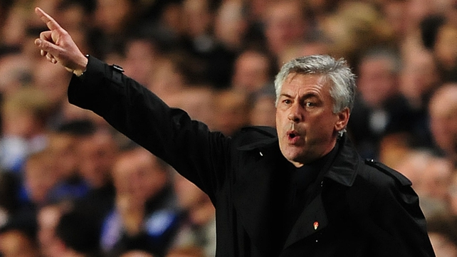 Carlo Ancelotti will take over at Real Madrid