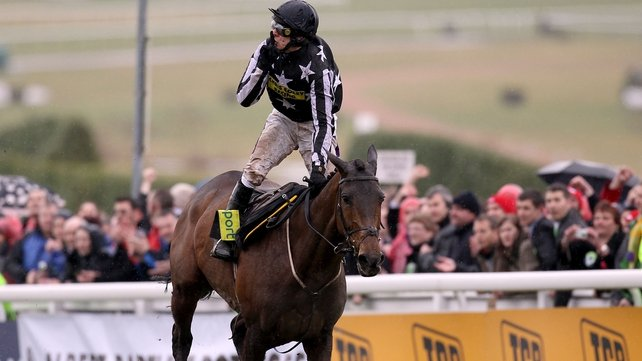 2010 Gold Cup winner Imperial Commander will head straight back to Cheltenham for the showpiece event in March