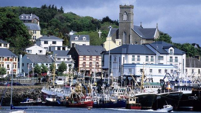 The accident happened in the town of Killybegs