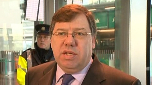 Brian Cowen - Four-year plan at advanced stage