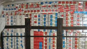 Eight million cigarettes were seized