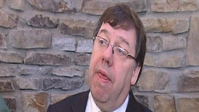 Brian Cowen - Fianna Fáil support at all-time low