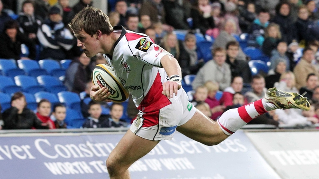 Craig Gilroy's second try, coming on 58 minutes, turned the tide in favour of Ulster