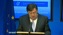 RTÉ.ie Extra Video: Govt Statement on application for financial support