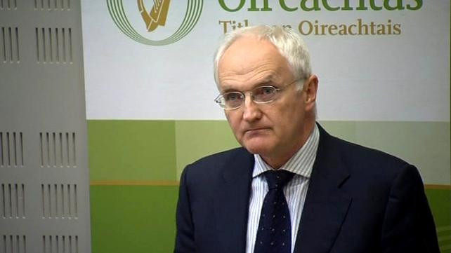 John Gormley - Informed Brian Cowen minutes before the announcement