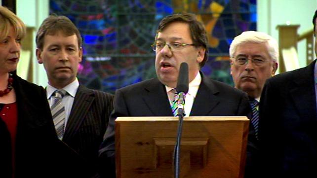 Brian Cowen - National concern 'must take precedence'