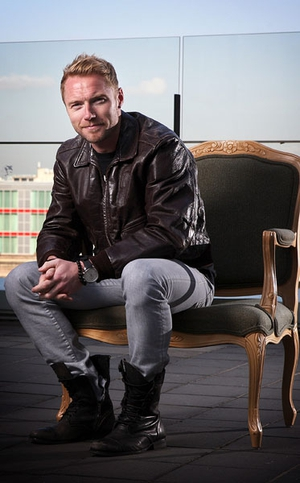 Ronan Keating said he'd love to become a member of the UK X Factor's judging panel