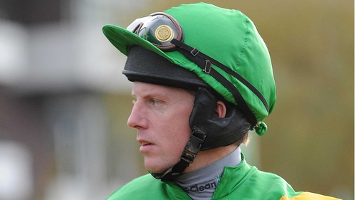 Noel Fehily has come in for the ride on Unioniste in the Hennessy