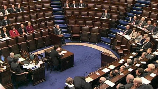 Dáil - Leaders Questions on economy