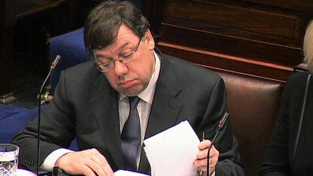 Brian Cowen - No call for the Taoiseach to stand down