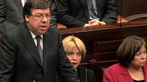 Brian Cowen - A priority that the Budget is passed