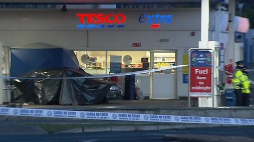 Finglas - Two men shot outside Tesco filling station