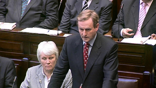 Enda Kenny - New government could negotiate new plan