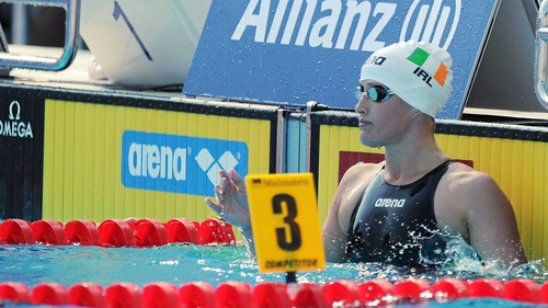 Melanie Nocher will attempt to swim the Olympic standard time on Sunday in the 200m backstroke