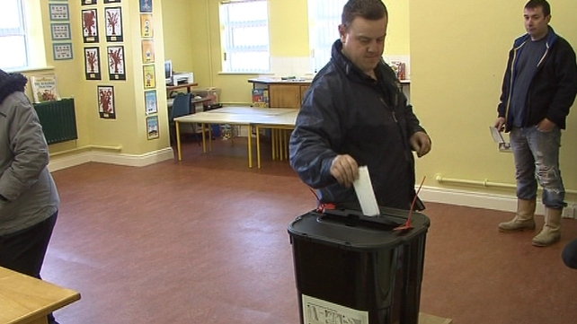 Vote - 25 February polling day