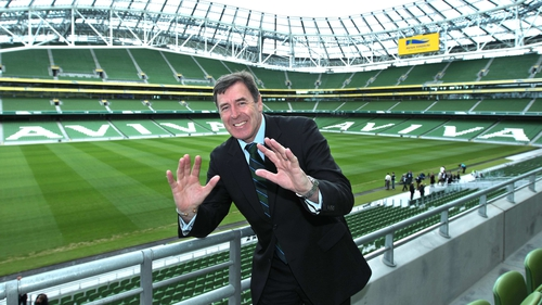 Packie Bonner is back with the FAI