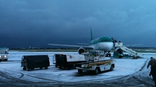 Dublin Airport - Resumed flights after 6.40pm