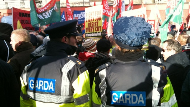 Dublin - Gardaí are expecting a peaceful protest