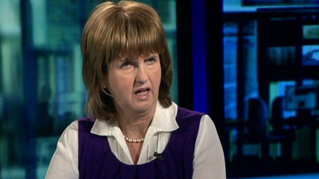 Joan Burton - EU & IMF have Ireland 'where they wanted us'